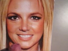 Britney Spears cum tribute