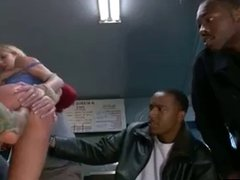 Anal Fisting Blonde in Pizzeria -AFM-