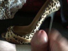 More Heels and panties spunked!