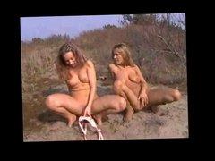 Girls Masturbating at Beach BVR