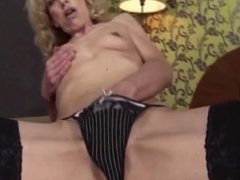 Dirty Granny Lobes Dildo and Fisting BVR