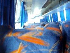 Paja en bus