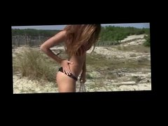 Maria My GF Nude on empty Beach BVR