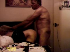 British BBW Whore gets rough doggy fuck and orgasms,