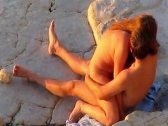 pareja playa 7