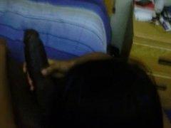 Ebony babe banged hard