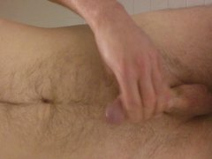 jerking and cumming at work