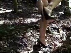 WITH HIGH HEELS IN THE FOREST