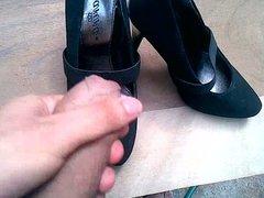 shoejob on my friend Sarah heels