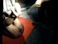 Bastinado foot whipping