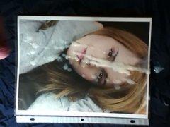 Emma Watson Classic Facial Cum Tribute 2-11
