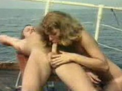 Vintage Group On A Boat