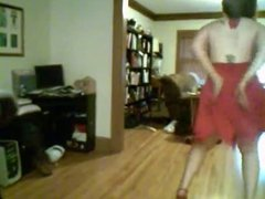 Chubby amateur dancing and teasing topless - negroflripa
