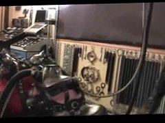 Milking machine and electrics