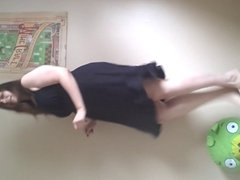 BBW Fat Girl Happy Dance! (I Can't Dance)
