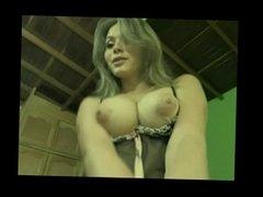 Sexy Tranny Strokes Cock On Cam