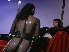 Latex Babes Tease And Tickle Each Others Plastic Bodies