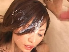 JAV- Girl Masturbation & Splash