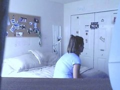 Aggresive teen girl with her boyfriend
