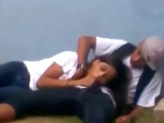 girl sucking BF recorded