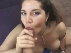 Chubby girl with hairy pussy fucked