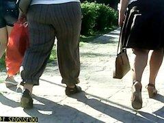 Hot mature in high heels