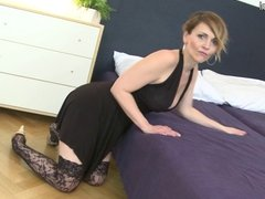 Posh mature mother fucked by her toy boy