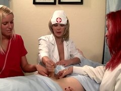 Nurse Handjob: A Handjob Before Casteration