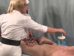 Nurse Handjob: Schoolgirl Lessons