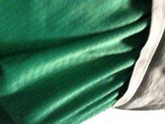 Green Shorts' Bulge
