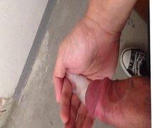 masturbate in the stairs