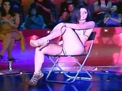 Eva Marie Sexy Stripper Dance in Tiny Bikini
