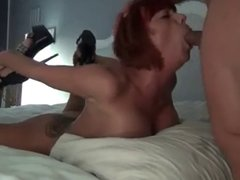 German girl brutally fucked in the mouth