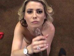 Hot MILF Alana takes huge black cock