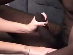 wife cream heavily her big blk toy