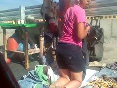 Mostrando la tanga en Mexico #04