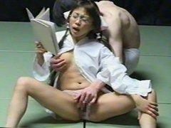 Teacher gets bukkake