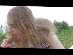Sexy Blonde - Great Outdoor Sex