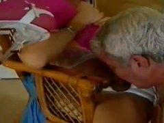 Man serves his ladyboy Mistress
