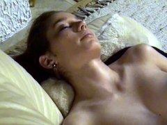 College girl masturbating for her guy