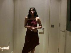 indian amateur babe kavya sharma dacing naked
