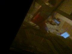 Scottish upskirt through window.