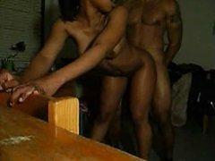 Ebony Babe Getting Banged