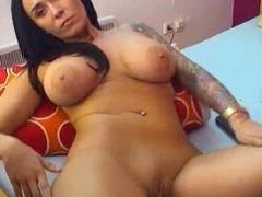 webcam brunette milf teaser