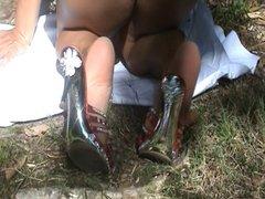 Feet off my wife 7