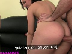 FemaleAgent Anal creampies delivered into tight womens ass