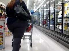 Big Butt Grey Shopper