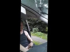 ugly guy in the car gets lucky