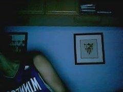 Straight guys feet on webcam #18