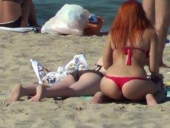 hot beach spy